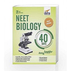 NEET Biology 40 Days Score Amplifier by Disha Experts Book-9789386323064