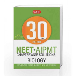 30 Years NEET-AIPMT Chapterwise Solutions - Biology by MTG Editorial Board Book-9789386561800