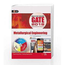 Gate Guide Metallurgical Engineering 2018 by GKP Book-9789386601230