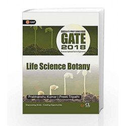 Gate Guide Life Science Botany 2018 by GKP Book-9789386601452