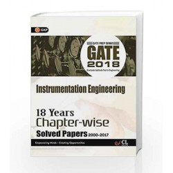 Gate 18 Years Chapter Wise Solved Papers Instrumentation Engg. (2000-2017) 2018 by GKP Book-9789386601551