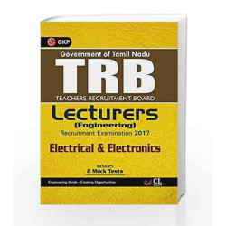 TRB Teachers Recruitment Board Lecturers (Engineering) Electrical & Electronics 2017 by GKP Book-9789386601858
