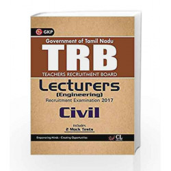 TRB Teachers Recruitment Board Lecturers (Engineering) Civil 2017 by GKP Book-9789386601865
