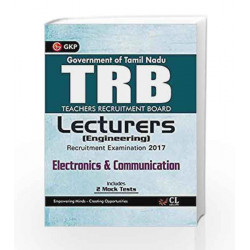 TRB Teachers Recruitment Board Lecturers (Engineering) Electronics & Communication 2017 by GKP Book-9789386601872