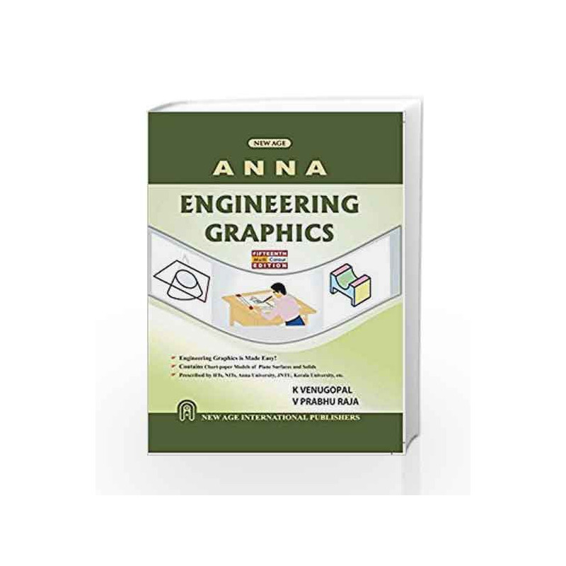 Engineering Graphics As Per Anna University By K Venugopal Buy