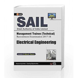 SAIL Electrical Engineering Management Trainee (Technical) 2017-18 by GKP Book-9789386860125