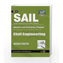 SAIL Civil Engineering Operator cum Technician (Trainee) 2017-18 by GKP Book-9789386860224