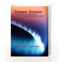 THERMAL SCIENCES : AN INTRODUCTION TO THERMODYNAMICS by POTTER Book-E039000000025