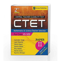 CTET (Central Teacher Eligibility Test) Paper II: Mathematics and Science Teacher Selection (For Class VI   VIII)