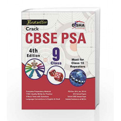 Crack CBSE PSA 2015 Class 9 (Study Material + Fully Solved Exercises + 5 Model Papers) 4th Edition by Disha Experts