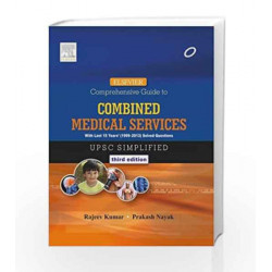 Elsevier Comprehensive Guide to Combined Medical Services (UPSC) by Rajeev Kumar MBBS  MS (General Surgery)