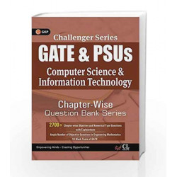 Challenger Series GATE & PSU's Computer Science & Information Technology Chapter wise Question Bank Series by GKP