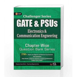Challenger Series GATE & PSU's Electronic & Communication Engineering Chapter wise Question Bank Series by GKP