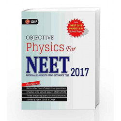 Objective Physics for NEET 2017 by GKP Book 9789351450115