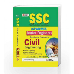 SSC CPWD   MES 2015 Civil Engineering (Junior Engineering Recruitment Exam) by GKP Book 9789351444879