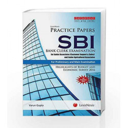 LexisNexis Practice Papers for SBI Bank Clerk Examination:For Junior Associates (Customer Support & Sales)