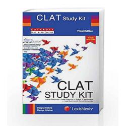 Clat Study Kit ( Legal Reasoning, English, Logical Reasoning, Mathematics And Legal Awareness by Deepu Krishna