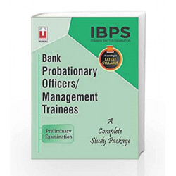 IBPS CWE Bank Probationary Officers/Management Trainees Guide Preliminary Examination English by Unique Research Academy