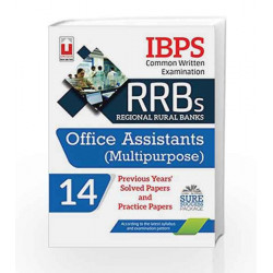 IBPS RRB (CWE) Regional Rural Banks Office Assistants Multipurpose Practice Paper Master Guide Series by Unique Research Academy
