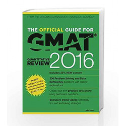 The Official Guide for GMAT Quantitative Review 2016 with Online Question Bank and Exclusive Video (Old Edition) by GMAC
