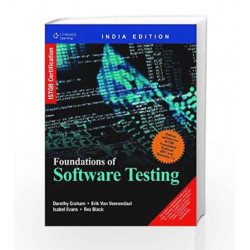 Foundation of Software Testing: ISTQB Certification by Erik Van Veenendaal, Isabel Evans, Black Rex Dorothy Graham Book