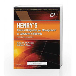 Henry's Clinical Diagnosis and Management by Laboratory Methods: First South Asia Edition, 1e by Richard A. McPherson MD  MSc
