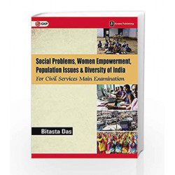 Social Problems, Women Empowerment, Population Issues and Diversity of India for Civil Services Main Examination by Bitasta Das