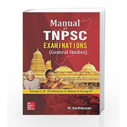 Manual for TNPSC Examinations (General Studies)