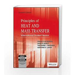 Principles of Heat and Mass Transfer, 7ed, ISV by David P. Dewitt, Theodore L. Bergman, Adrienne S. Lavine Frank P. Incropera