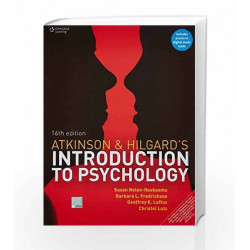 Atkinson & Hilgards Introduction to Psychology by CENGAGE Book 9788131528990