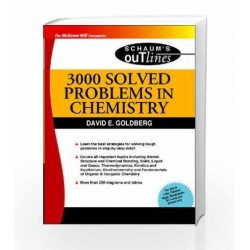 3000 SOLVED PROBLEMS IN CHEMISTRY: Schaum's Outline Series, Special Indin Edition by David Goldberg Book 9780070085312