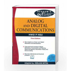 ANALOG & DIGITAL COMMUNICATION: SCHAUM'S OUTLINE SERIES by Hwei Hsu Book 9780070151505