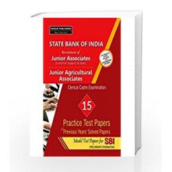 State Bank Of India Clerical Examinations Practice Papers 2016-17 (18.82) by unique  Book