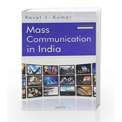 Mass Communication in India by  Book-9788172243739