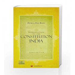 Introduction To The Constitution Of India by D.D. Basu Book-9789351434467