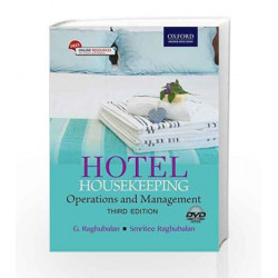 Hotel Housekeeping: Operations and Management 3e (includes DVD) by G. Raghubalan Book-9780199451746