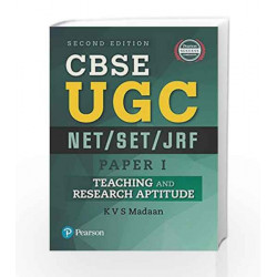 CBSE UGC NET/SET/JRF - Paper 1: Teaching and Research Aptitude by  Book-9789332551732