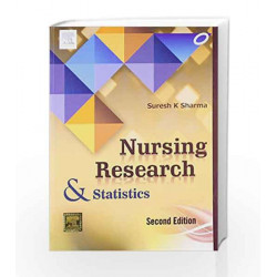 Nursing Research and Statistics by Sharma Book-9788131233085