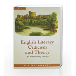 English Literary Criticism and Theory by M.S. Nagarajan Book-9788125030089