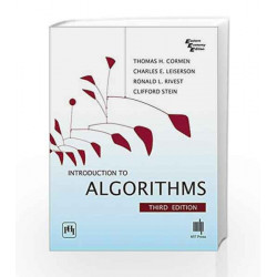 Introduction to Algorithms (Eastern Economy Edition) by Thomas H. Cormen Book-9788120340077