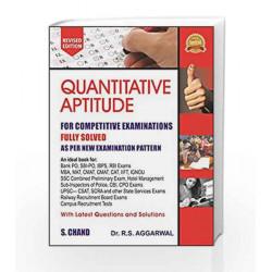 Quantitative Aptitude for Competitive Examinations by  Book-9789352534029
