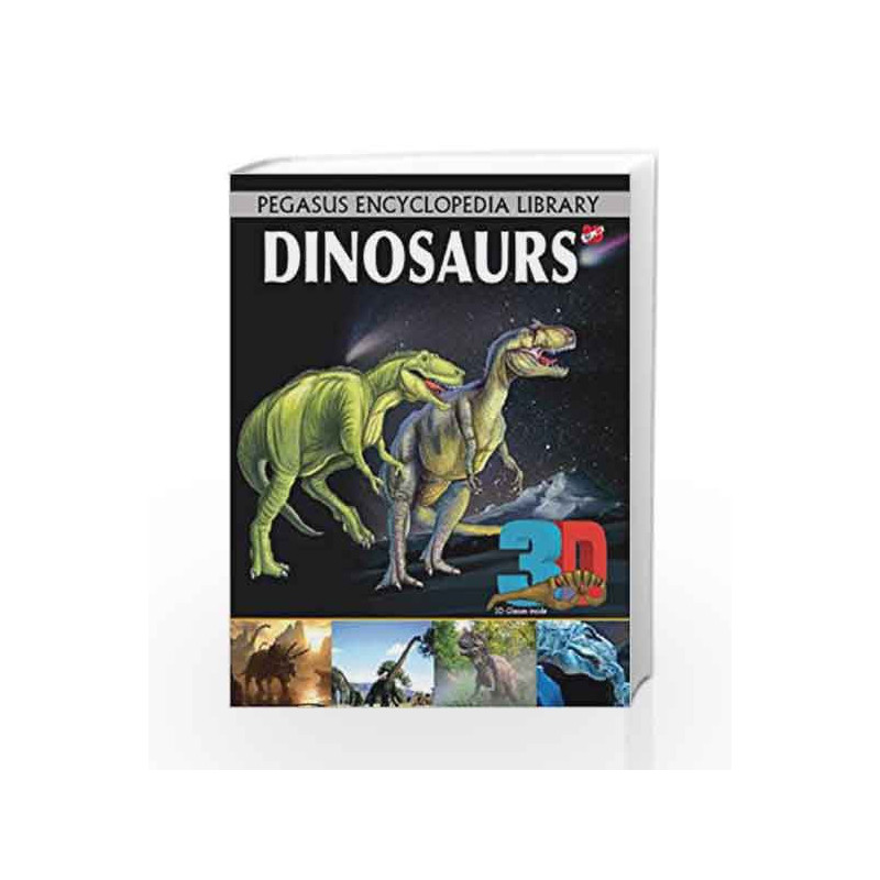 3D - Dinosaurs: 1 by Pegasus Team Book-9788131930328