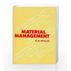 Material Management by K.K. Ahuja Book-9788123900650