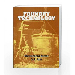 Foundry Technology by Jain Dharmendra Book-9788123902906