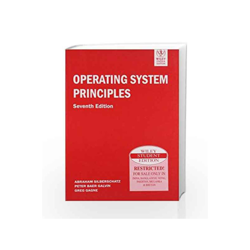 Operating System Principles By Silberschatz Buy Online Operating