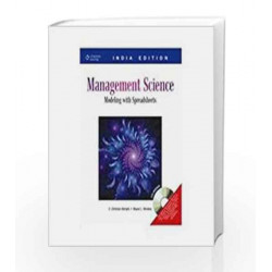 Management Science: Modeling with Spreadsheets, with CD by Wayne L. Winston Book-9788131510810