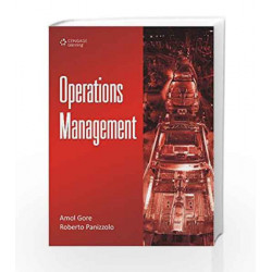 Operations Management by Amol Gore Book-9788131516461