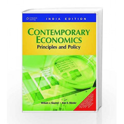 Contemporary Economics: Principles and Policy by William J. Baumol Book-9788131512043