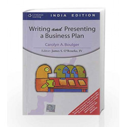 Writing and Presenting a Business Plan by ourke James O Book-9788131504321