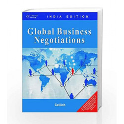 Global Business Negotiations by CELLICH Book-9788131514344